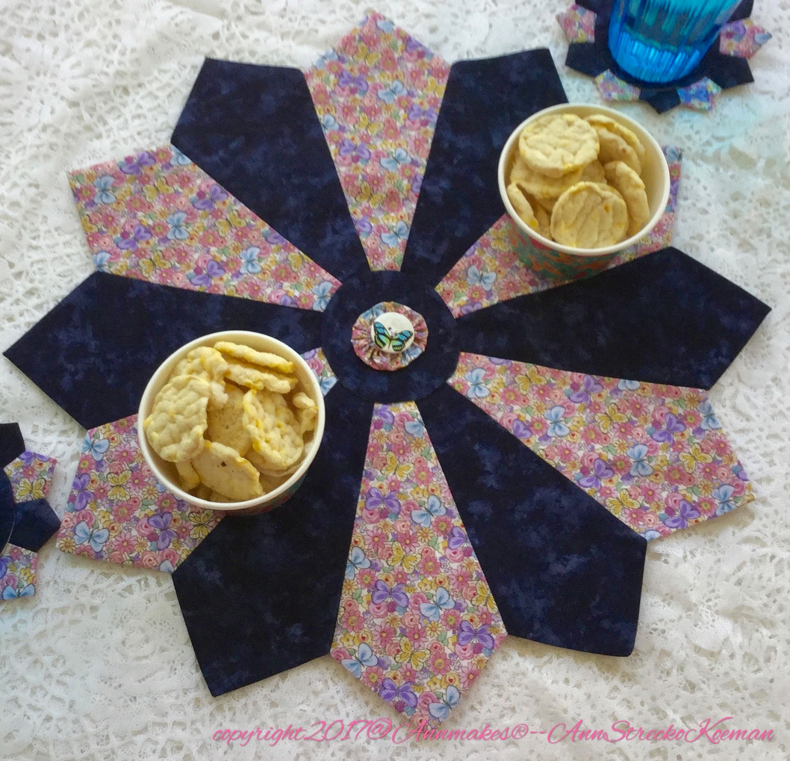 Annmakes Sew A Kaleidoscope Dresden With Nancys Notions