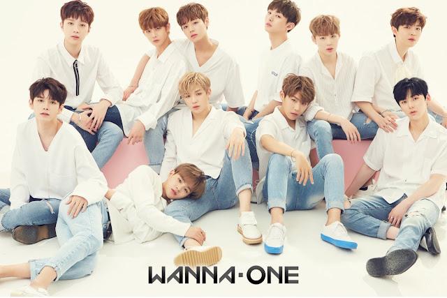 anggota Wanna One memainkan berbagai permainan menyenangkan bersama seperti gulat lengan  Wanna City Subtitle Indonesia
