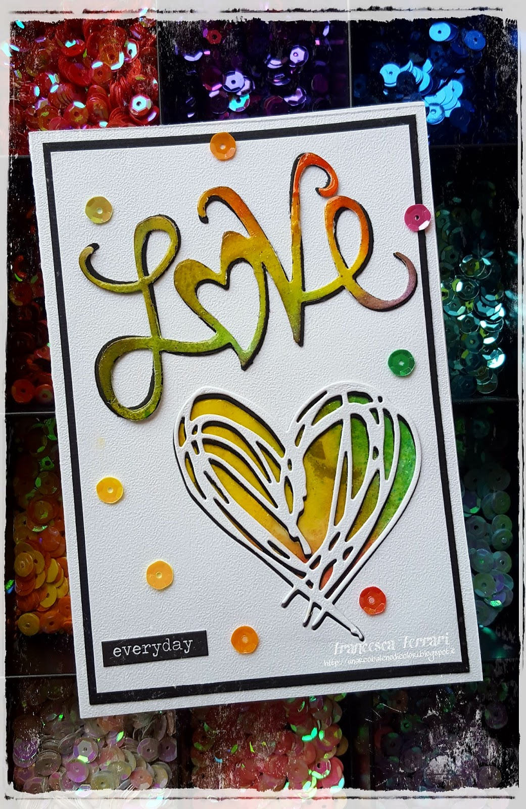 Un arcobaleno di colori simply love for Clean significato