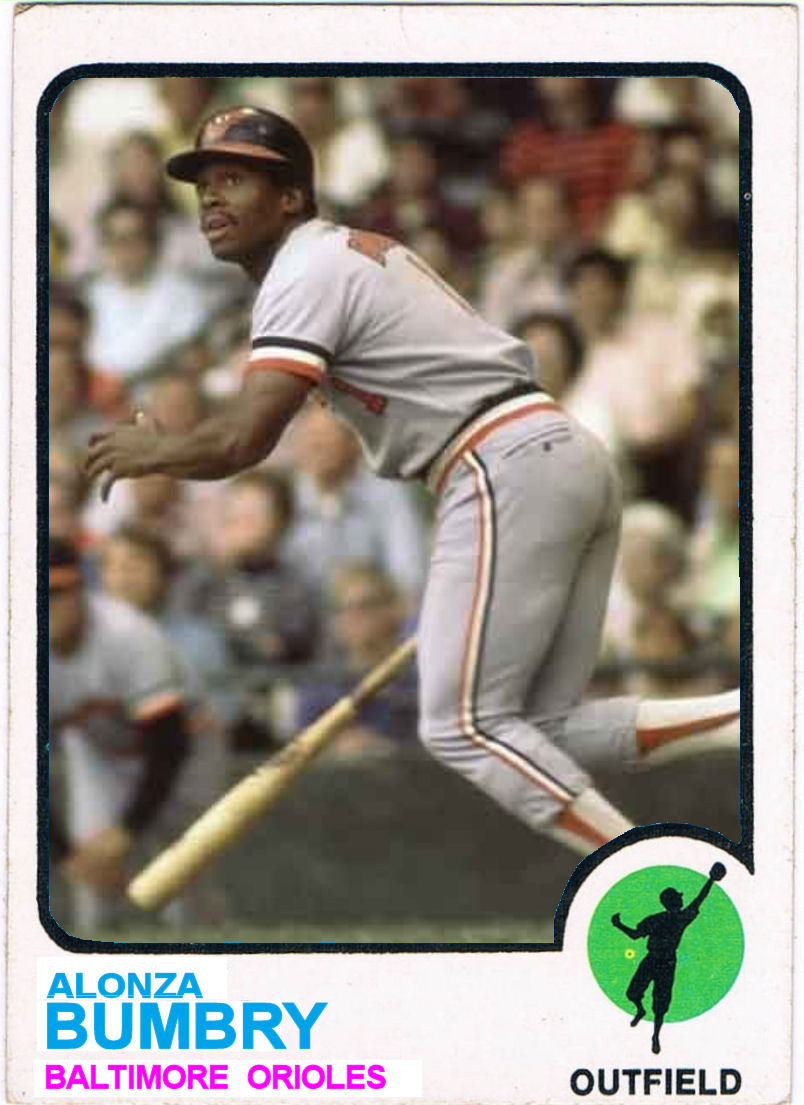 Cards That Never Were 1973 Topps Al Bumbry