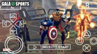 7 Game PPSSPP Marvel Avangers di Android, Terpopuler!