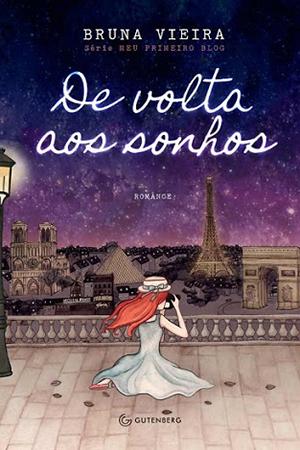 capa do segundo livro da série meu primeiro blog de volta aos sonhos da bruna vieria