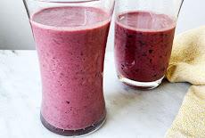 سهل وسريع عصير الكريز Cherry smoothie