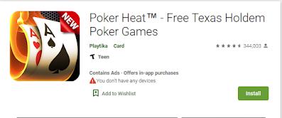 Game Poker Android terbaru paling terkenal