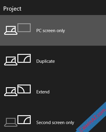 Kiểm tra lại chế độ hiển thị mặc định của Windows