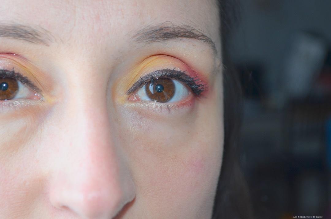 maquillage-rouge-et-jaune-quotidien-ete-2020