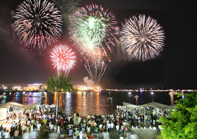 Comemorações de Ano-Novo em Miami
