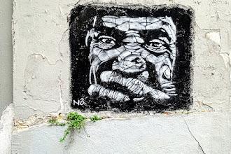 Sunday Street Art : Nô - rue de l'Equerre - Paris 19