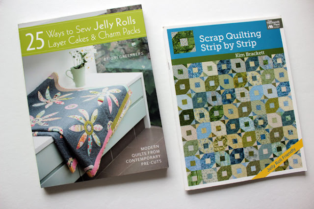 2 jelly roll quilt books