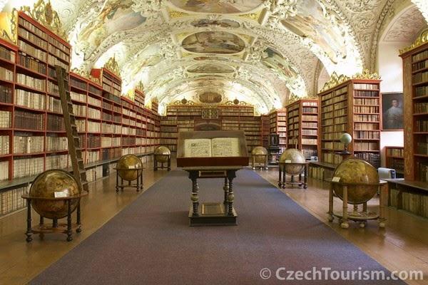 Sala Teológica, Monasterio de Strahov (Praga, República Checa)