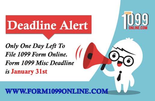 1099 Misc Form Deadline