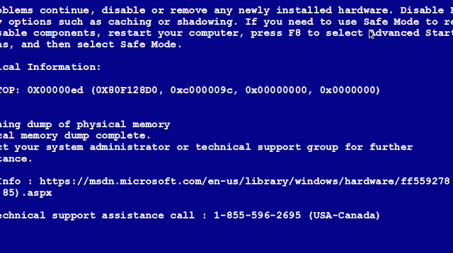 Blue-Screen-troubleshoot-harware-problem-Computer-common-Problems-And-Solutions-In-English
