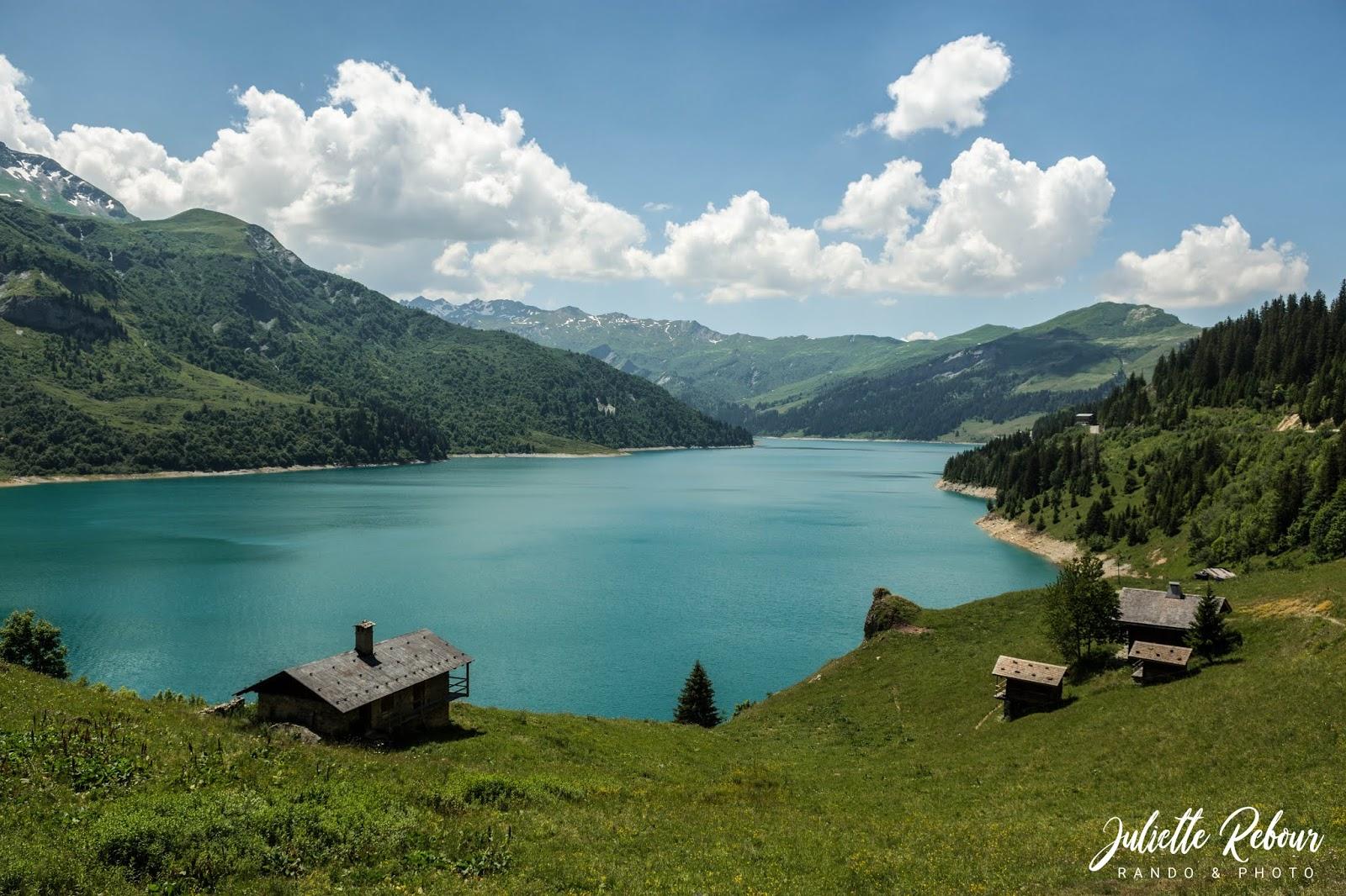 Chalet de montagne avec vue sur lac