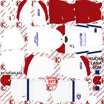 Johor Darul Takzim Nike Kits 2020 - DLS2021 Kits
