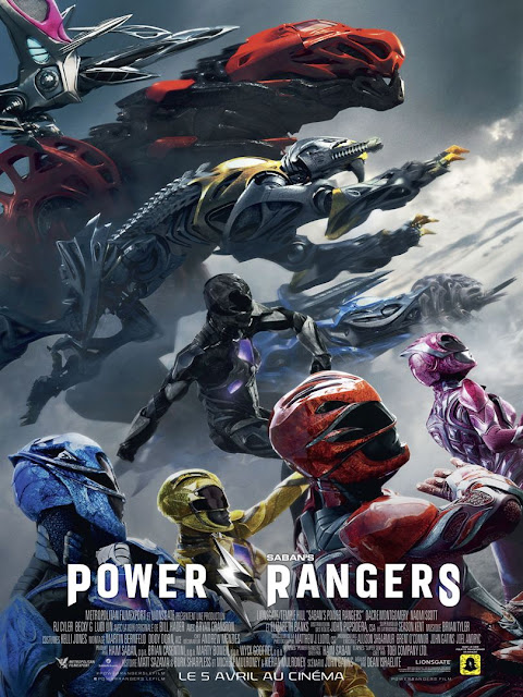 L'Agenda Mensuel - Avril 2017 Film Power Rangers