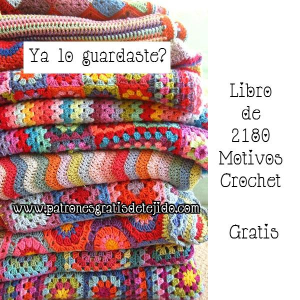 Libro Gratis de 2180 Motivos de Grannys y flores crochet