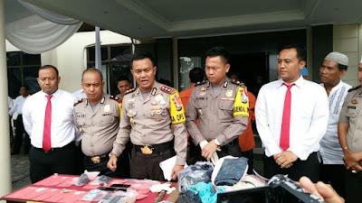Polres Lampung Timur Tangkap Tiga Orang Pelaku Penyalahgunaan Narkotika Jenis Sabu