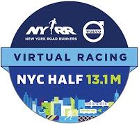 NYRR Virtual NYC Half