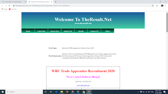 How to Make Website Like Sarkari Result