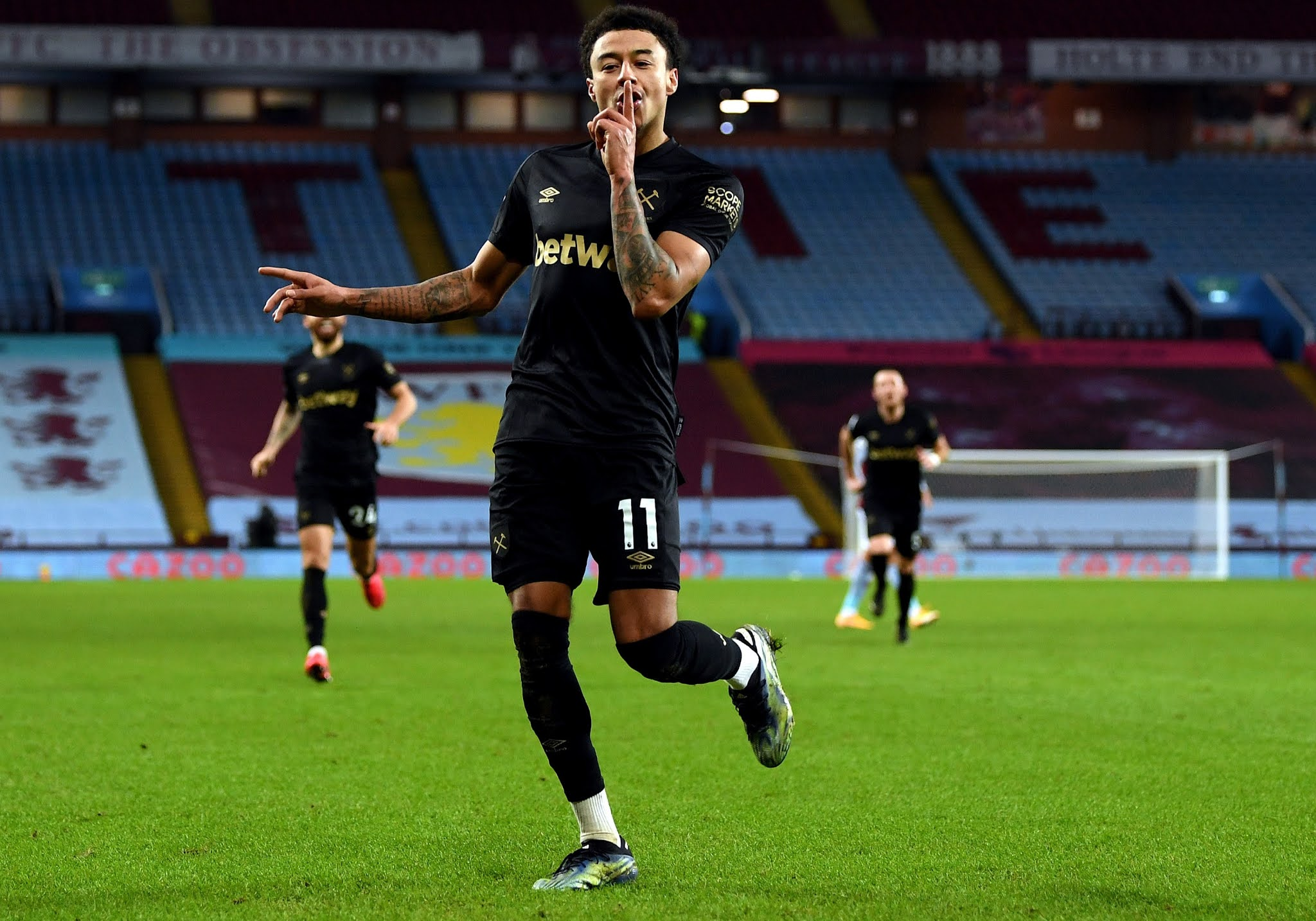 Jesse Lingard will be looking to maintain West Ham's hopes for a European qualification
