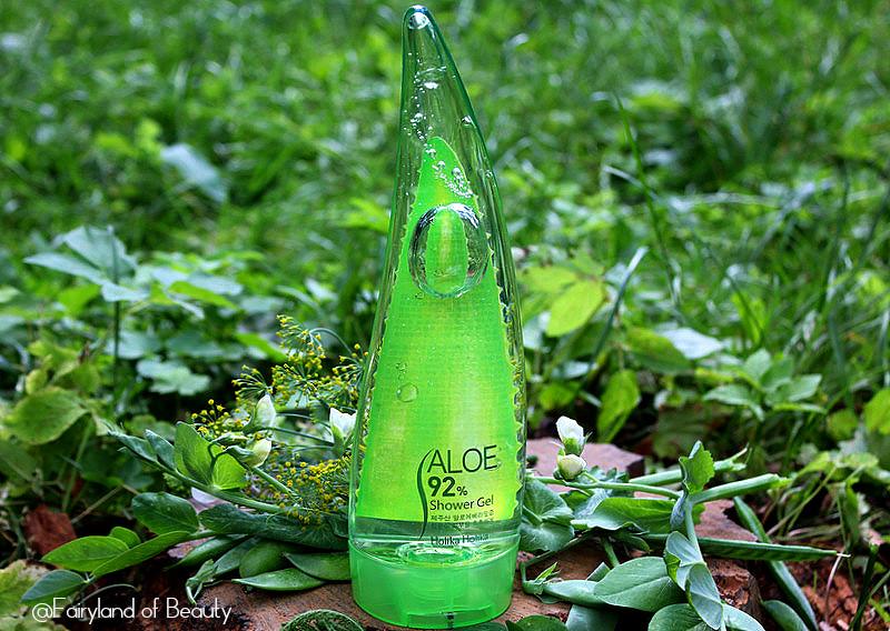Отзыв: Гель для душа с алоэ вера Holika Holika Aloe 92% Shower Gel.
