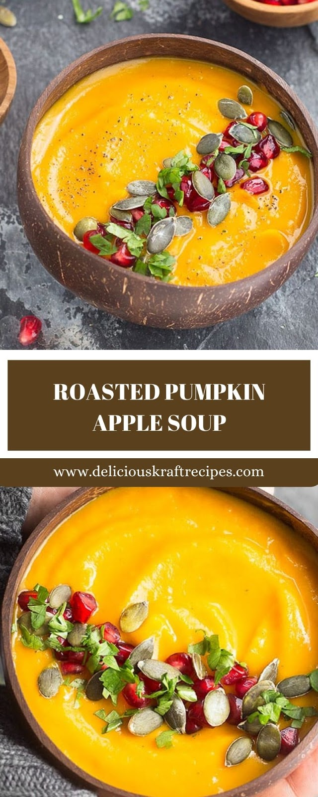 ROASTED PUMPKIN APPLE SOUP