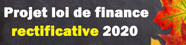 Projet de loi de finance rectificative 2020 pdf