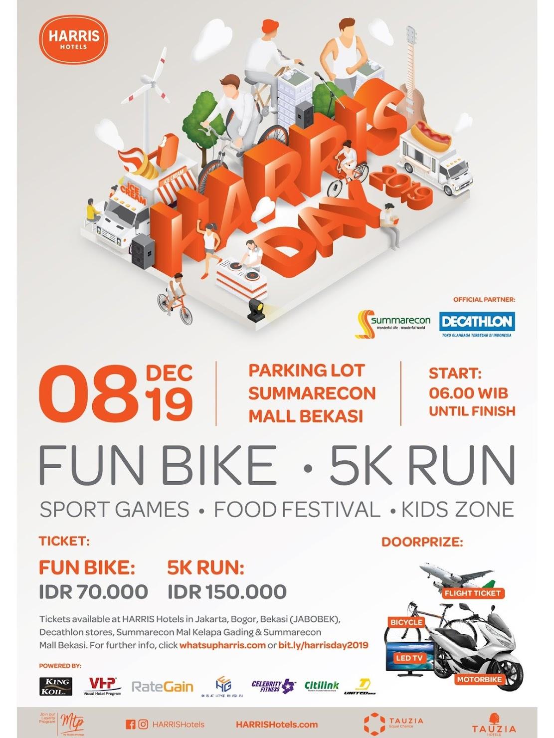Harris Day Orange Run - Bekasi • 2019