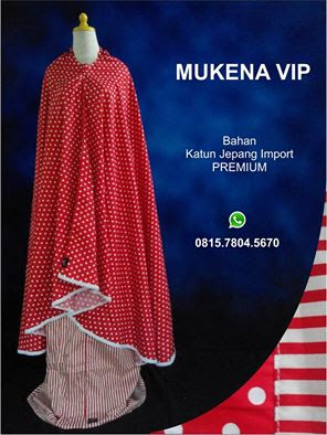 0857-4215-0585 (IM3) Jual Mukena Katun Polkadot