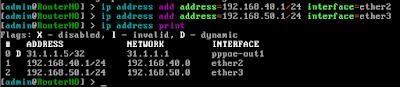 Pengaturan IP Address
