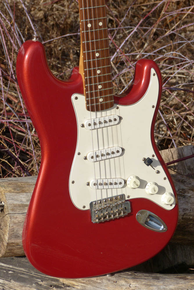 1994 Fender Mexican Stratocaster Electric Guitar