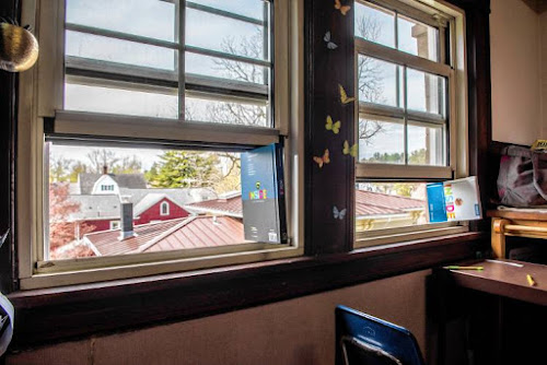 open windows and doors at schools