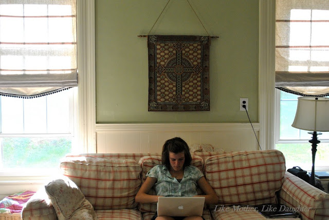 Diy Roman Chair Amish Made Adirondack Chairs Shades My Tweak Big Cheap Sturdy Like Mother Daughter