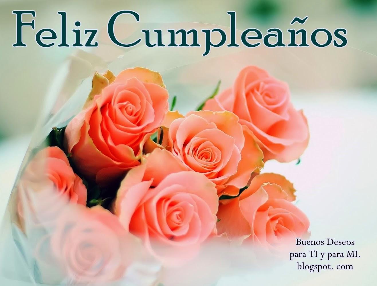 Felicitaciones De Cumpleaños Para Una Amiga Con Flores