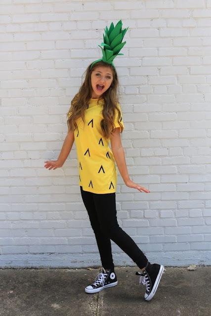 Costume Ananas