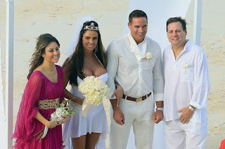 Katie Price and Keiran Hayler married in the Bahamas
