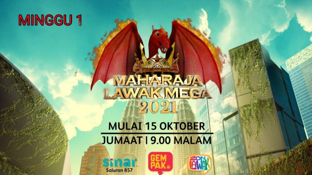 Live Streaming Maharaja Lawak Mega 2021 Minggu 1 Online