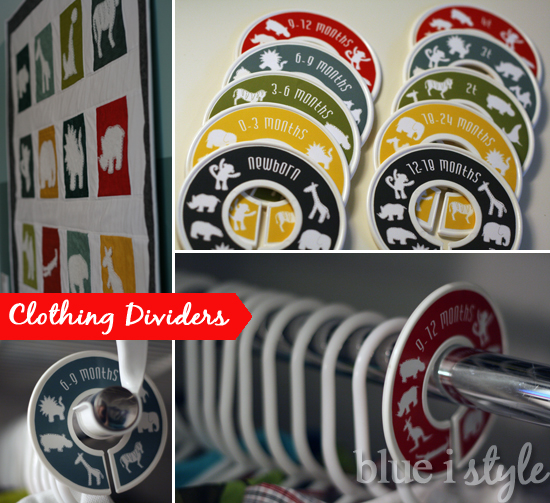 Great I Purchased The Plastic Closet Rod Dividers {affiliate Link} At The  Container Store For Only $.99 Each. They Are Also Available On Amazon  {affiliate Link} ...