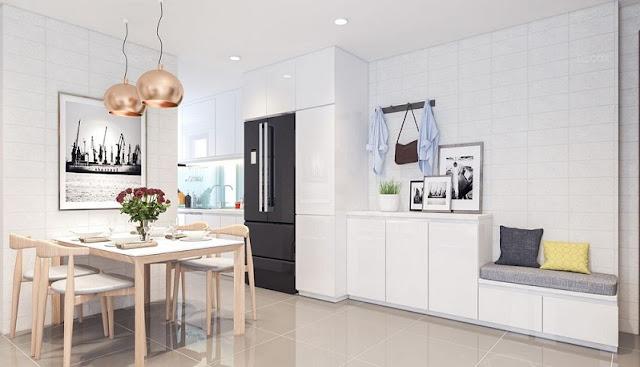 Thiết kế căn hộ 68m2 hiện đại được ưa chuộng nhất năm 2018 - H4