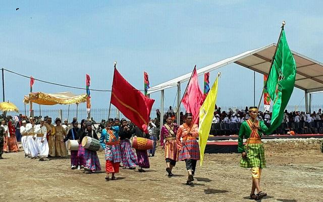 Kirab Budaya HUT Sulsel ke-348, Bone Tampilkan Laskar Kerajaan Petta Ponggawae