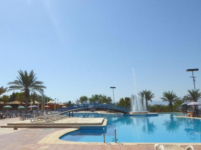 piscina in Giordania