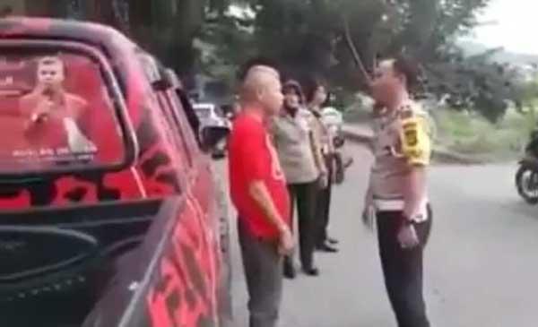 Ketua PDIP Bima yang Bentak Polisi Dicopot
