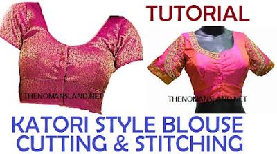 katori style blouse
