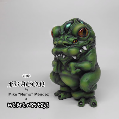 Designer Con 2016 Exclusive The Fragon Resin Figure by NEMO x We Are Not Toys