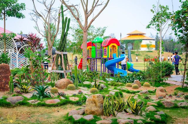 khu vui chơi trẻ em tại dự án biệt thự the phoenix garden