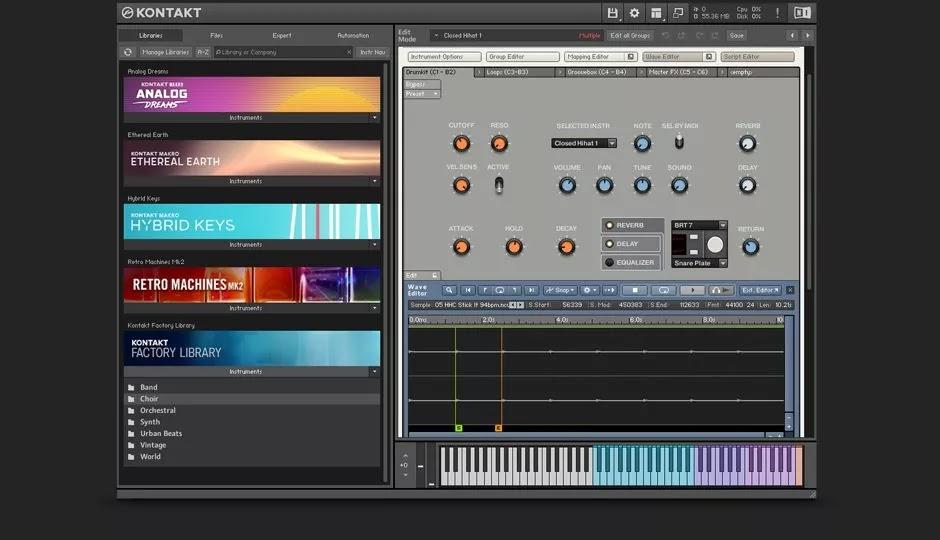 تحميل برنامج Native Instruments Kontakt 6.3.0 لإنتاج الموسيقى