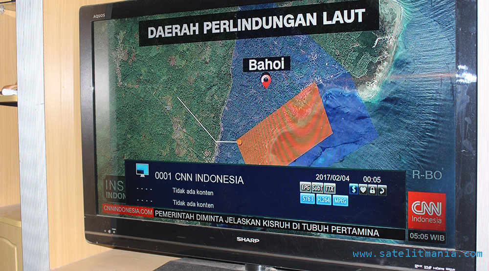 Cara buka acakan channel CNN Indonesia