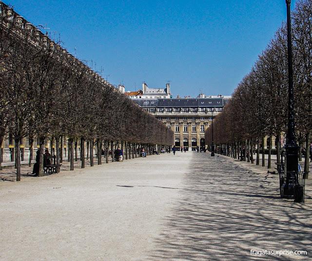 Jardins do Palais Royal, Paris