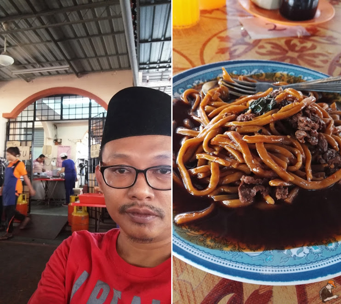 Mee Hailam Syamok Unik Popular Parit