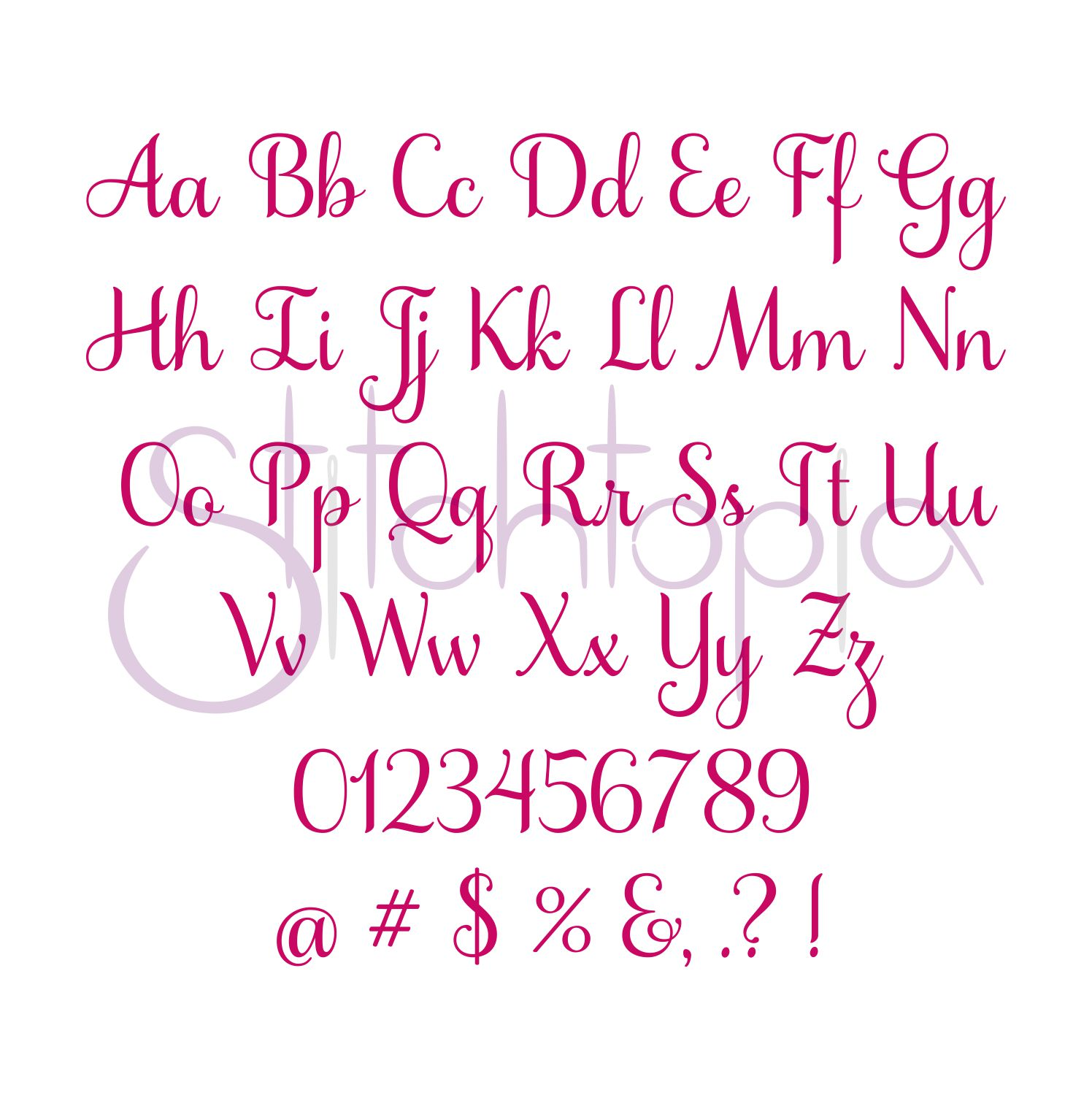 Lucy S Closet Fonts
